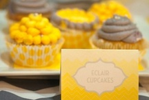 Color Inspiration ~ Yellow and Grey / Yellow and grey color scheme wedding inspiration