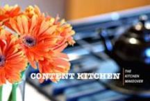 Content Kitchen's Kitchen Makeover / Links to goodies I ended up using in my recent kitchen model.