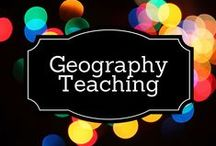 Geography Teaching / by Debbie O'Shea