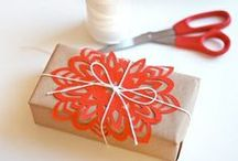 """~~wrap it~~ / Granny always said, """"No matter what's inside, everyone loves a beautifully wrapped package."""" / by Sofie"""