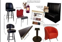 Restaurant Design Inspiration + Ideas / Need a place to go to look for restaurant design inspiration? Look no further!  We've got a lot of great ideas and tips for getting a designer look for less. From restaurant furniture to décor, this board has you covered!