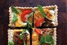Pizzas, flatbreads, and crostini / by Rebecca Brothers