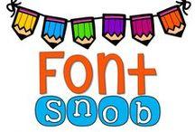 Font Snob