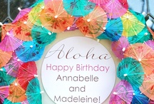 Birthday Party Ideas for Girls / Balloons, cakes, rainbows, favors! Everything you need to make your daughters birthday sparkle! / by Janica Rogers