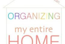 Organizing Tips / The best organizing tips to help you get rid of that mess and finally have a clean and organized home. I dream of clean and organized...don't you? / by i Dream of Clean