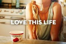 Love This Life / Celebrating more than one supermarket aisle, more than one food, and more than one way to love this life.    / by Chobani