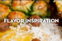 Flavor Inspiration / New flavors are always on our mind.