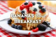 Bananas 'Bout Breakfast / Once a day's just not enough!