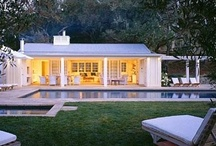 pool and house / by Christine Welch-Meier