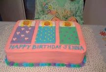 Birthday Cakes we Love / Many Cakes from Have A Bashery parties and some we admired!
