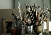 Art studios and craft rooms