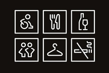 Signage and graphic information / Wayfinding and other found labels
