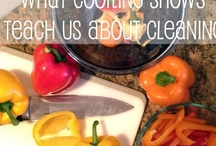 Cleaning Tips / Kitchen / I spend hours in the kitchen. That means I need all the organizing, cleaning, and cooking tips I can get. How about you?