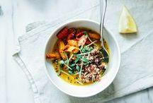 main dishes | bowls, curries, stir fries, warm grain salads, etc.