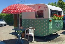 Vintage Travel Trailers / by Ann Dare