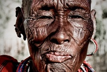 Faces..they tell so much / You can see so very much in a face.  My favorite are those with life clearly etched in every wrinkle, mark and expression. / by Laura Osburne
