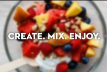 Create. Mix. Enjoy with Chobani / With 2x the protein, Chobani is the perfect addition to any smoothie, creation, or frozen treat! / by Chobani