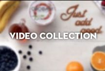Video Collection / Swing by for how-to videos without the snooze- all about the love of food.