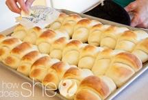 Breads, rolls, pretzels / Recipes for bread, rolls, pretzels, dough... / by Natalie Kennedy - Stampin' Up! Demonstrator