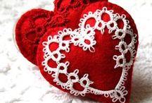 Fabric Hearts / like