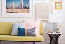 The Art of Display / Artist spotlights, display ideas, and pieces of artwork to inspire your next gallery wall