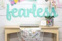 Inspiring Workspaces / Design ideas for sewing nooks, art studios, and other places to get creative. / by Etsy