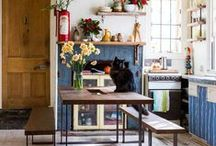 Captivating Kitchens and Dining Rooms / Ideas and essentials for cooking, baking, cocktail mixing — and sampling the results — in an inspiring environment. / by Etsy