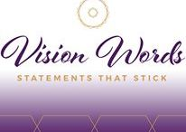 Vision Words / Vision Words Sticky Notes with AFFIRMATIONS, MANTRAS, MOTIVATIONAL QUOTES and SCRIPTURES, Inspirational Quotes, Positive statements, Post it, Empowering encouragement,   www.VisionWords.co