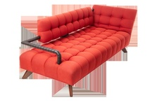 Red Chairs, Benches, Stools, Sofas (Seating Furniture)