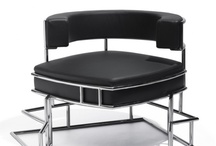 Black Chairs, Benches, Stools, Sofas (Seating Furniture)