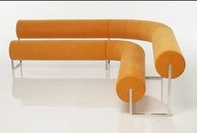 Orange Chairs, Benches, Stools, Sofas (Seating Furniture)