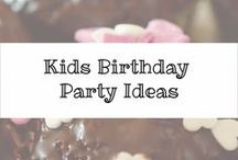 Kids Birthday Party Ideas / Sharing my son's birthday parties and other things that inspire me for children's birthday parties.