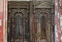 Doors / Beautiful doors and hardware / by Anne N.
