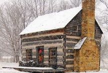 Log houses / by Anne N.