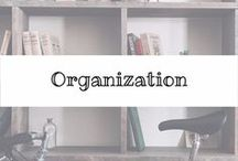 Let's Get ORGANIZED / Tips and tricks to keep your house, office and life organized and beautiful.