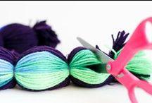 DIY : *Inspiration* / Selbermachen. Generelle Inspiration für die vielfältigen Möglichkeiten schöne Dinge selbst herzustellen.