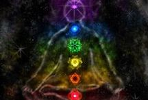 Multiple Chakras / Rainbow colors in everything from art to people to ... you name it. Multiple colors are related to multiple chakras.