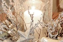 winter Decor / let the cold and snow show....