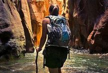 Hiking Inspirations / Hiking and enjoying the great outdoors.