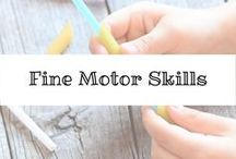 Fine Motor Skills / Fine Motor Skills and Activities for all children and ages.