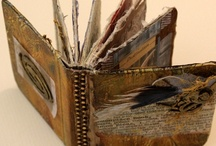 Art journals / Little art books and journals by artists with original drawings, paintings and mixed media  / by Ellen van Putten