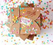 Party : *Packaging* / Ein Geschenk mit einzigartiger Verpackung ist gleich doppelt so viel Wert! Inspiration für die schönsten Packungsideen findet ihr hier.