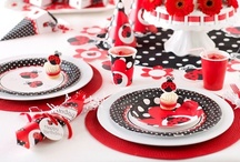 Ladybird Party / Inspiration for a ladybug or ladybird themed kids party