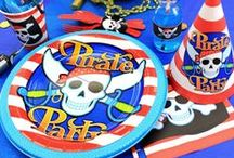 Pirate Party Ideas / Yarr harr! Get inspiration for the ultimate pirate party  including decorations, party food, party games and more. A brilliant kids' birthday party theme.