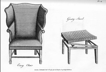 Wing Chairs or Wing Back Chairs / Came into vogue in the 1700 s To seat around a fireplace with protection against colder air at your back or sides.  / by Chair Blog