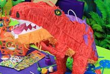 Dinosaur Party Ideas / Get all the inspiration you need for an awesome dinosaur party including decorating ideas, party food ideas, party games and more.
