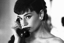 Celebs: Audrey Hepburn / by Allison Weaver
