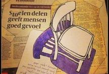 Share a Chair / Share your chair, that's a good feeling!  Send a picture of your favorite chair, your sofa or stool, where you like to read, write, paint, draw or watch TV. A lost chair on the street, a park bench or drivers seat. I draw the seat in bic, charcoal, ink or bistre. The photo of the drawing will be shown on Facebook. I will mention your name and if you have a story about the seat it will be mentioned also.  #shareachair