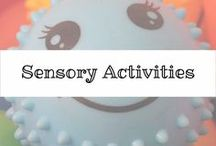 Sensory Activities ToolBox / Fun activities for those special little hands. Lots of ideas, colors, choices and more.