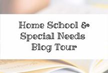 Homeschool & Special Needs Blog Tour / 5 amazing mom bloggers have joined joined together to offer freebies, friendship, encouagement and valuable information in the area of homeschooling and special needs. #homeschooling #specialneeds